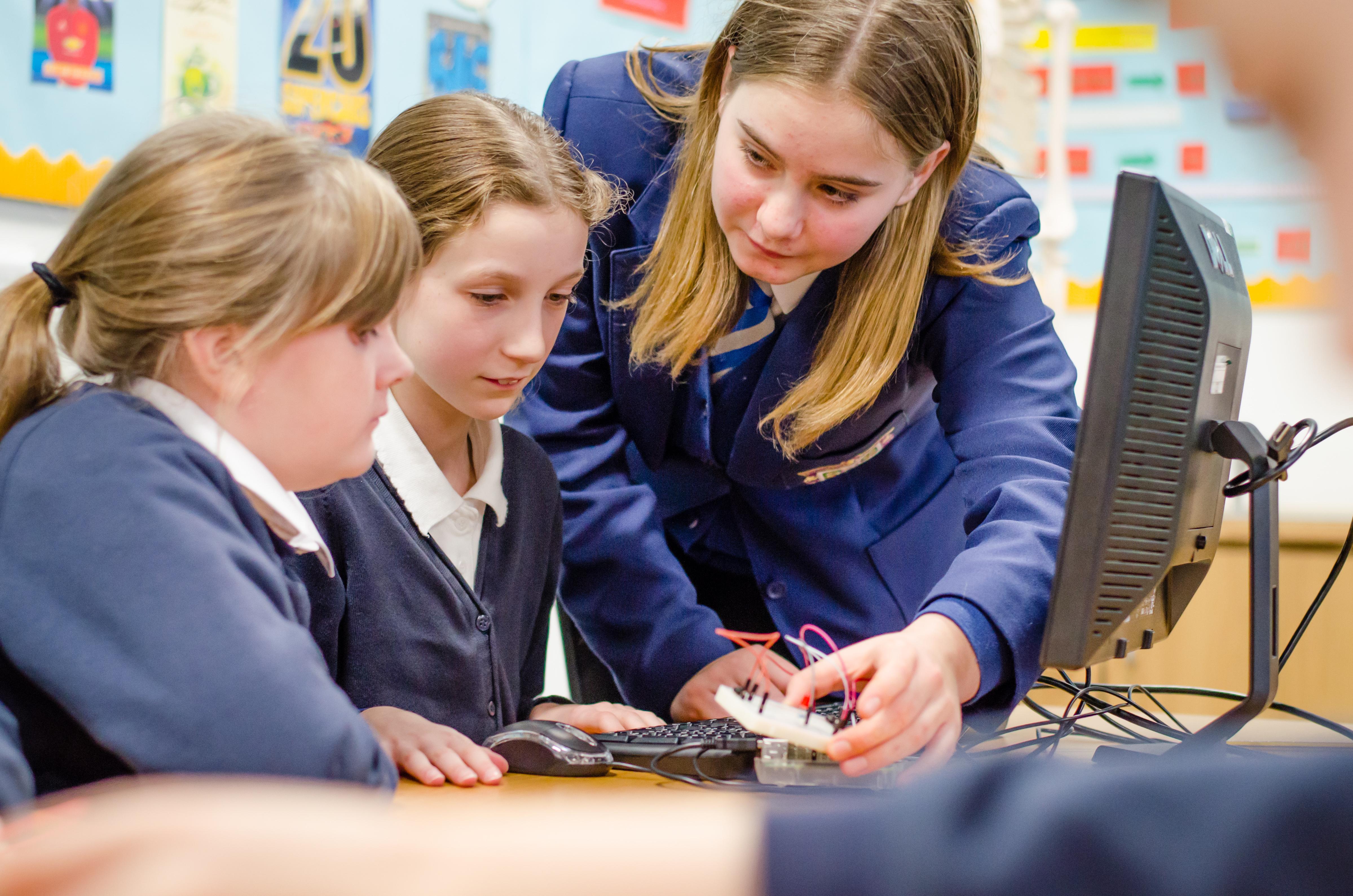 Stirling High School: Digital Learning Hub