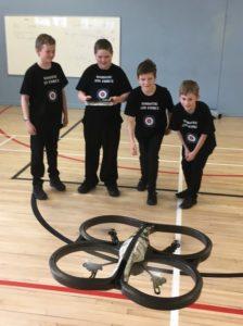 McLaren HS Drones