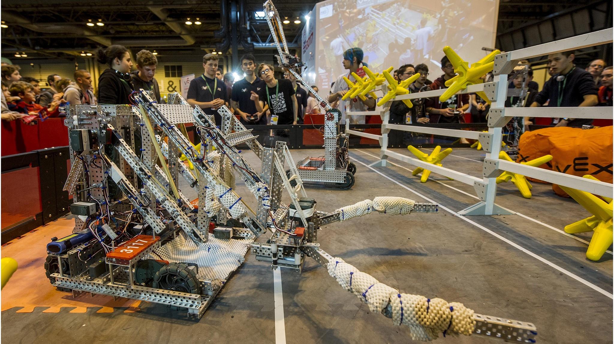 New College Lanarkshire: VEX Robotics Competition