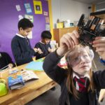Pupils from Anderston Primary School take part in 'Tech Heroes' (Digital Xtra Fund)