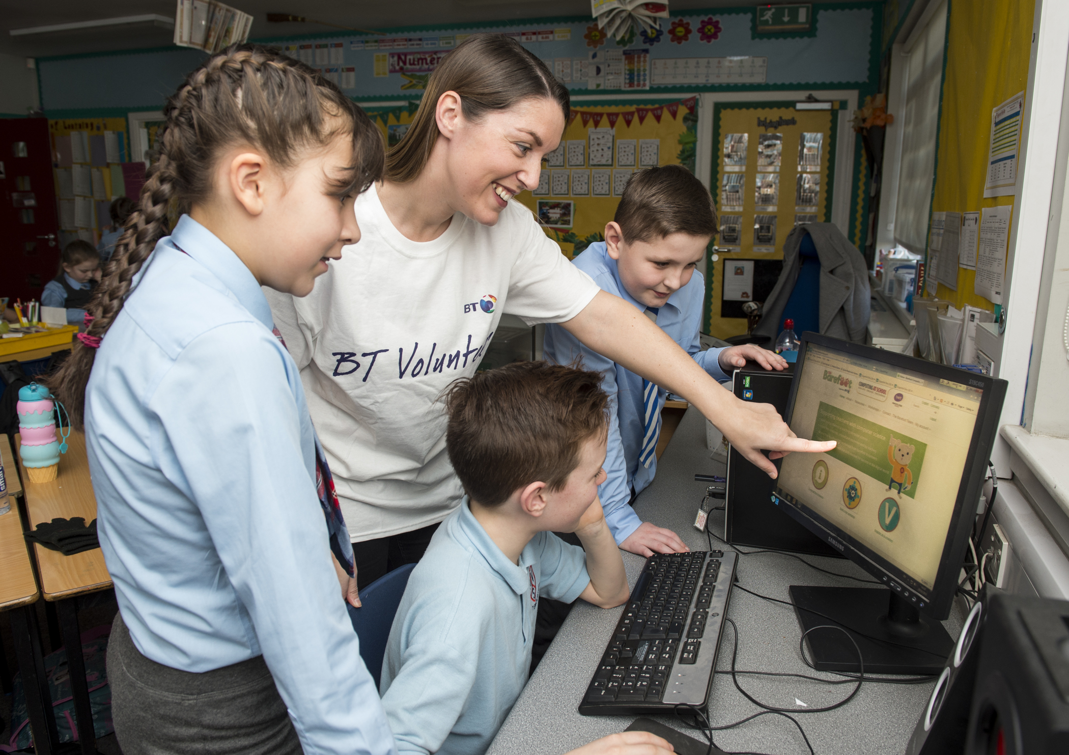 BT-sponsored Barefoot Computing provides boost for computing lessons in Scottish schools