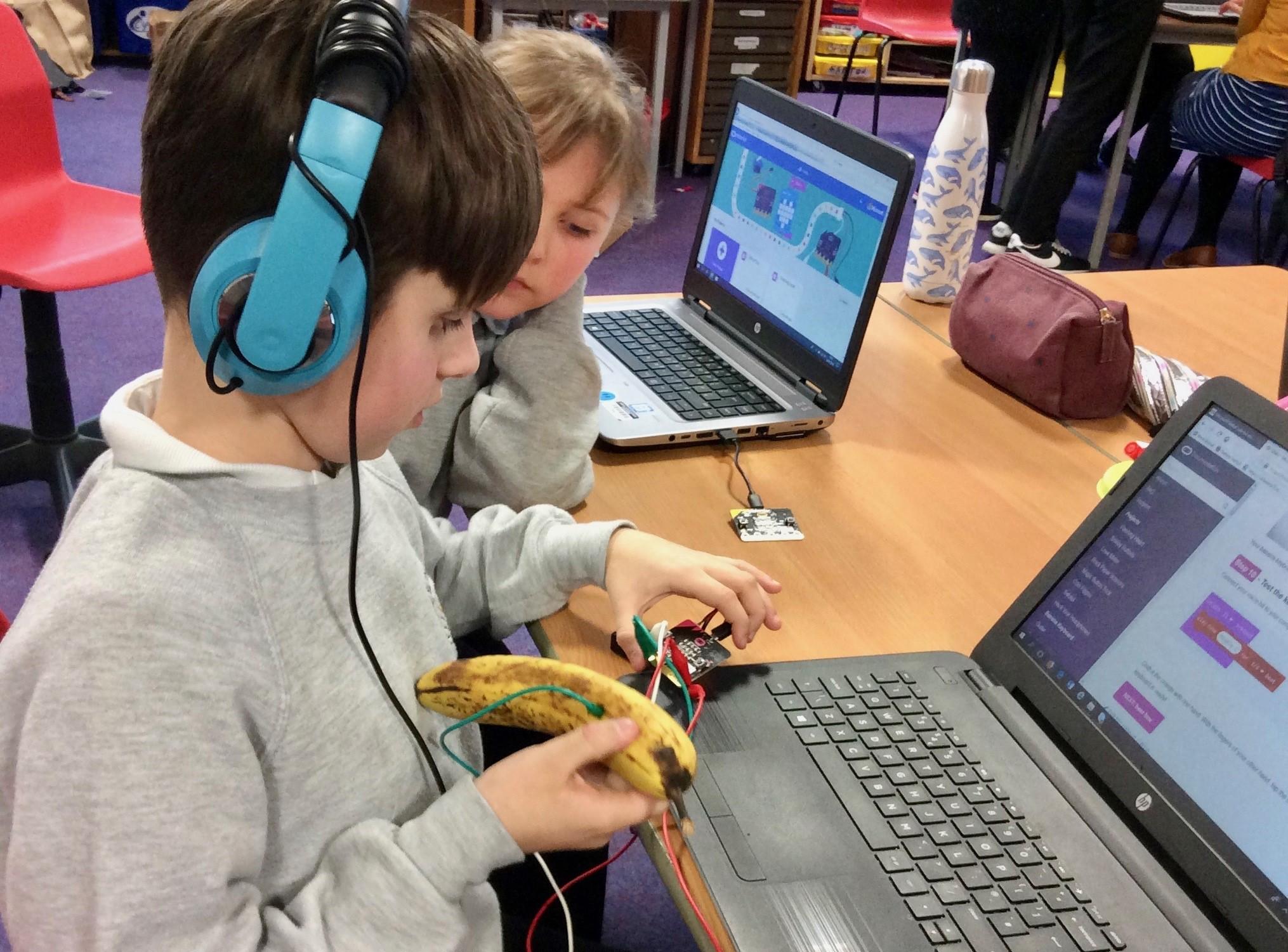 'Resilient Robotics' at Port Ellen Primary School is teaching the next generation how to code